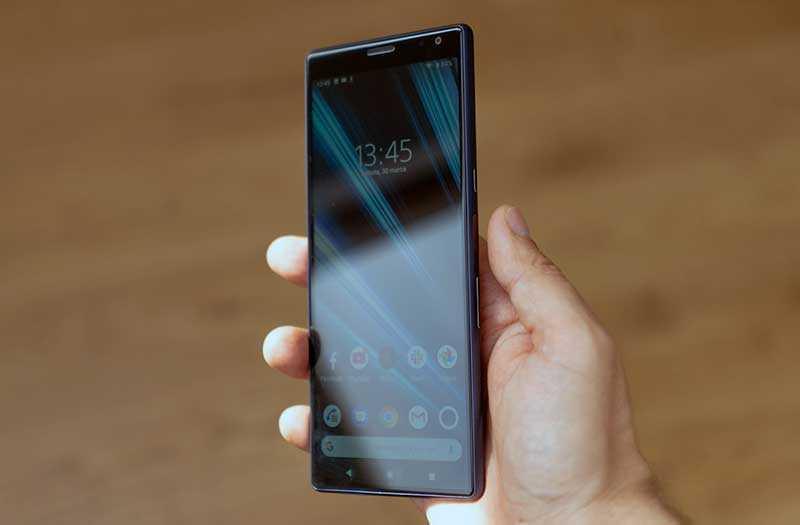 Sony Xperia 10 и Xperia 10 Plus углы обзора