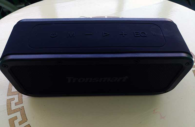Tronsmart Element Force кнопки
