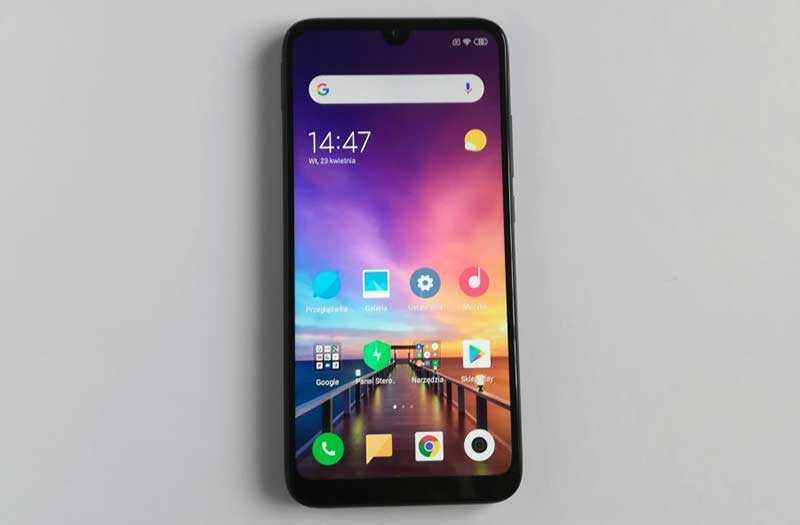 Xiaomi Redmi 7 ОС и ПО