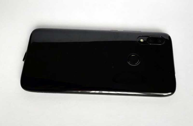 Xiaomi Redmi 7 сканер отпечатка пальца