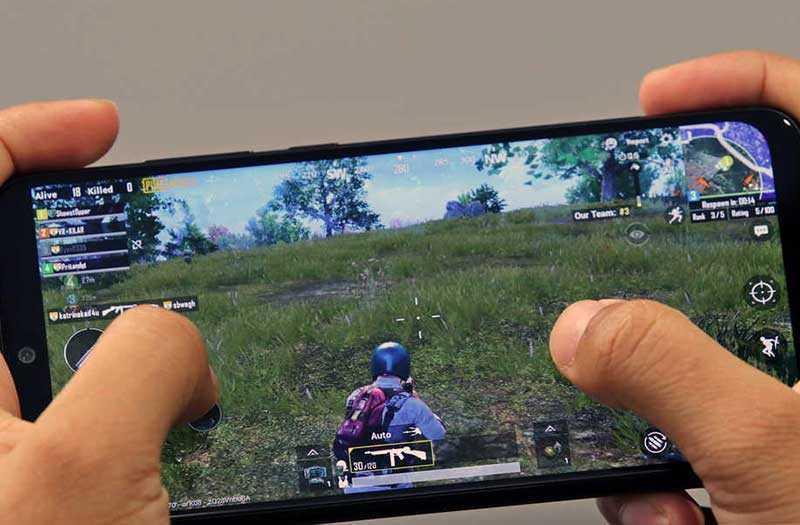 Xiaomi Redmi Note 7 Pro в играх