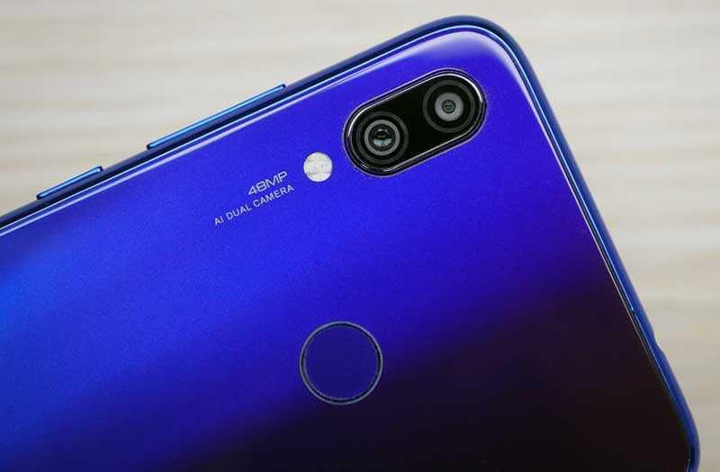 Xiaomi Redmi Note 7 Pro камеры