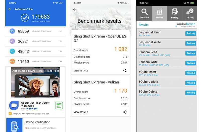Xiaomi Redmi Note 7 Pro тест