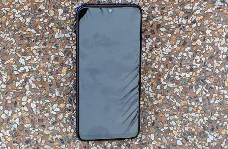 Xiaomi Redmi Note 7 Pro дизайн