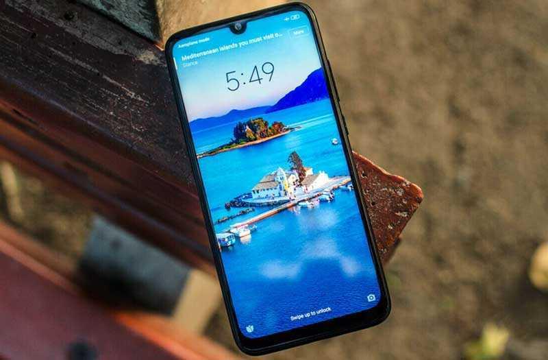 Xiaomi Redmi Note 7 Pro дисплей