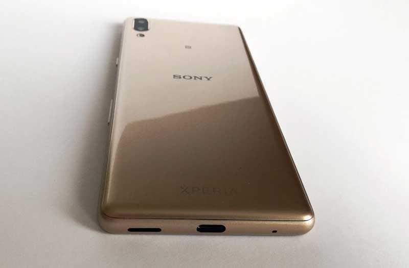 Sony Xperia L3 сзади