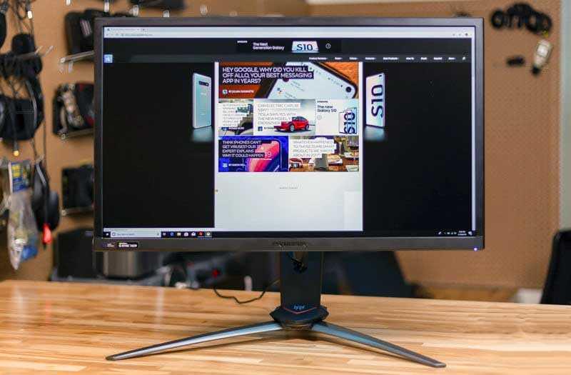 Дисплей Acer Predator XB273K