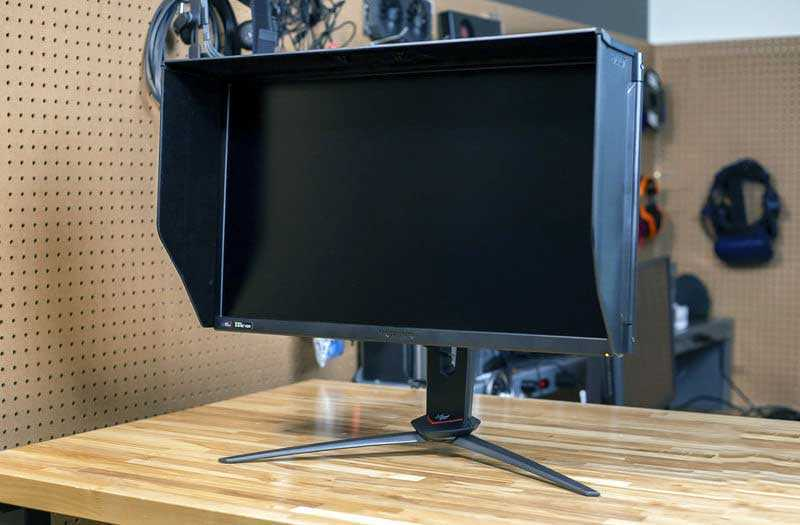 Acer Predator XB273K дизайн