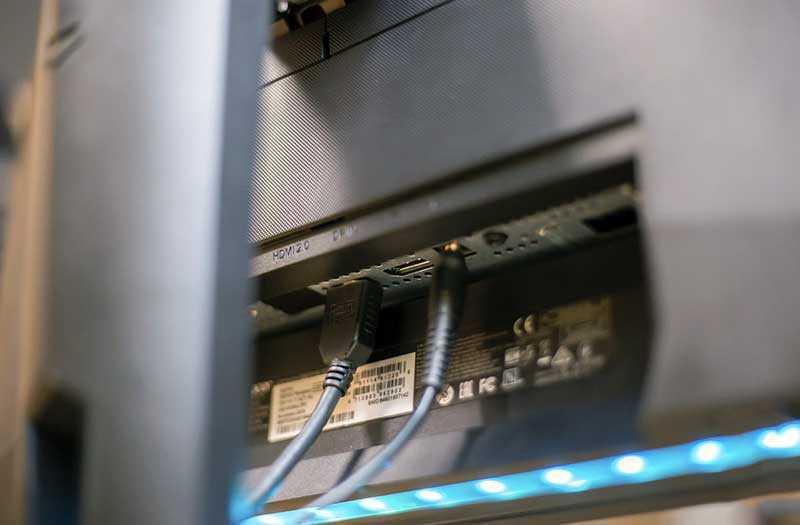 Acer Predator XB273K подключения