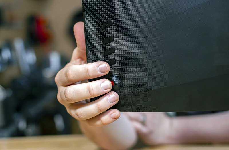 Acer Predator XB273K кнопки управления