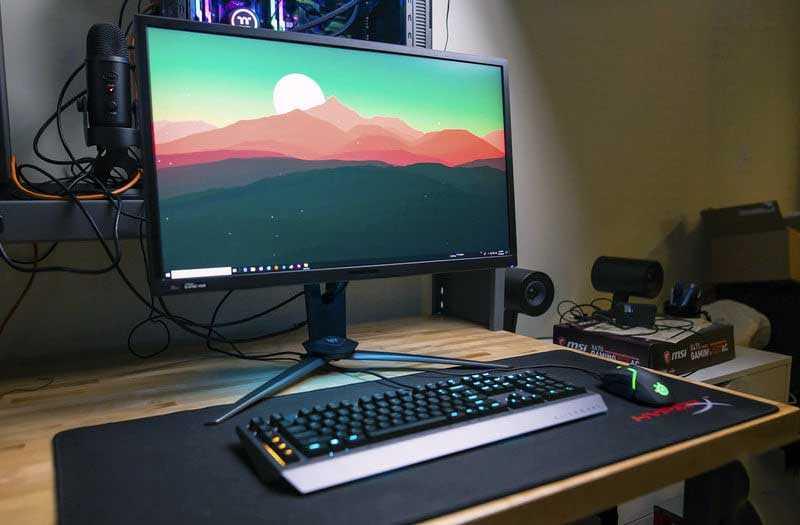 Обзор Acer Predator XB273K: 4K монитора 144 Гц — Отзывы TehnObzor
