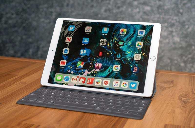 Apple iPad Air 2019 интерфейс
