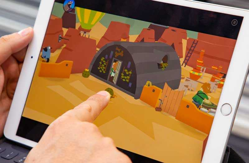 Apple iPad Air 2019 в играх