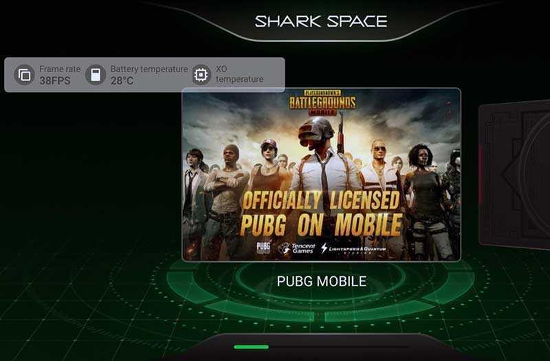 Black Shark 2 режимы