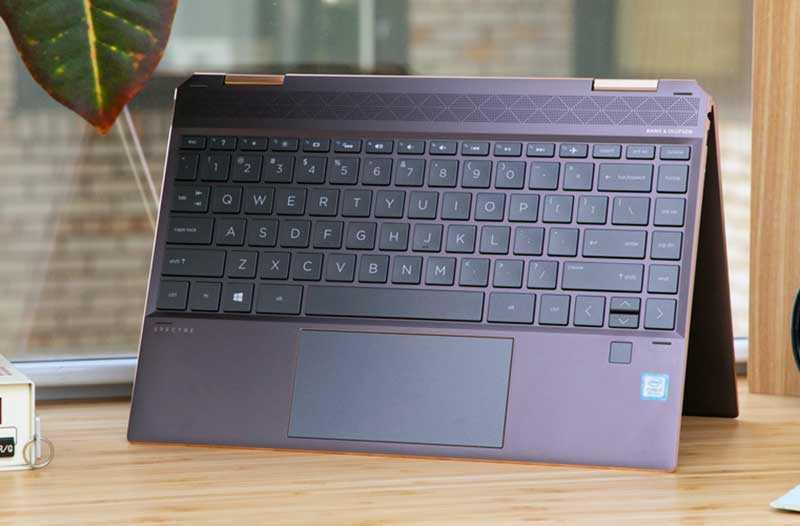 HP Spectre x360 13 (2019) клавиатура