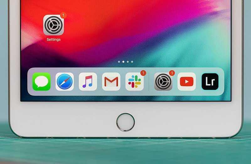 IPad mini 2019 интерфейс