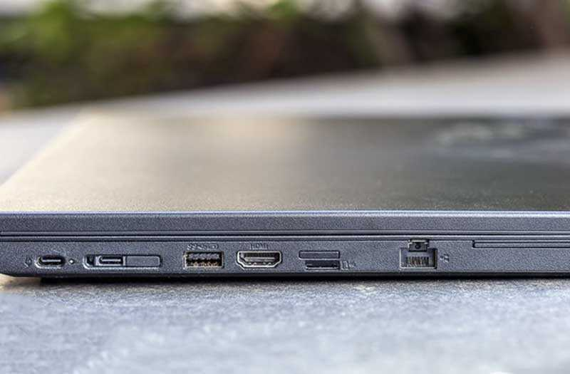 Lenovo ThinkPad L580 порты