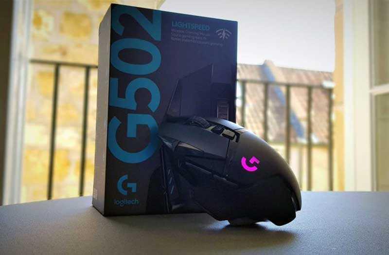 Logitech G502 Lightspeed дизайн