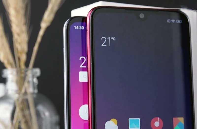 Meizu Note 9 и Redmi Note 7 дизайн