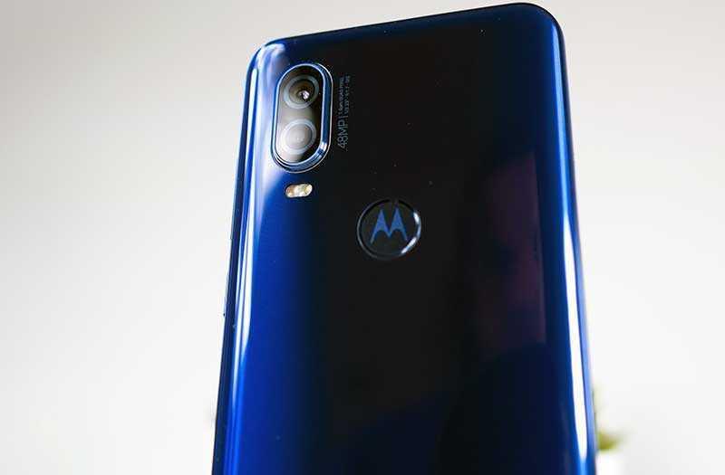 Motorola One Vision сканер отпечатка