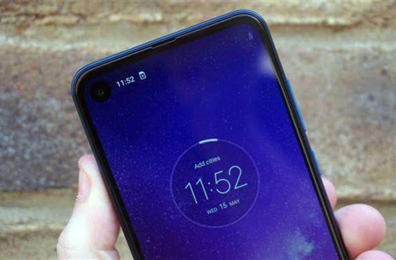 Motorola One Vision автономность
