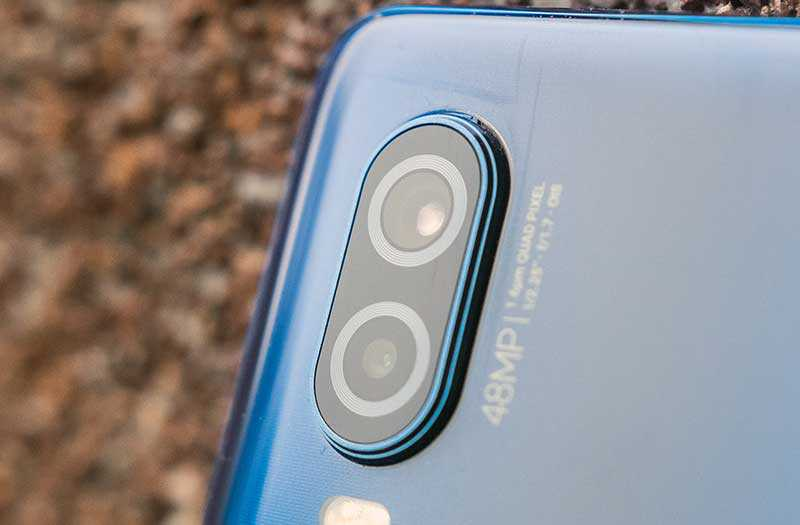Motorola One Vision камеры