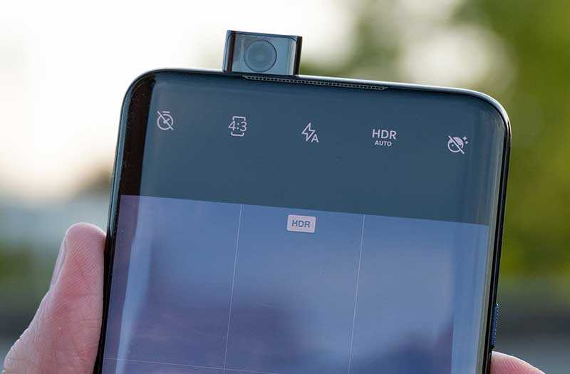 OnePlus 7 Pro передня камера