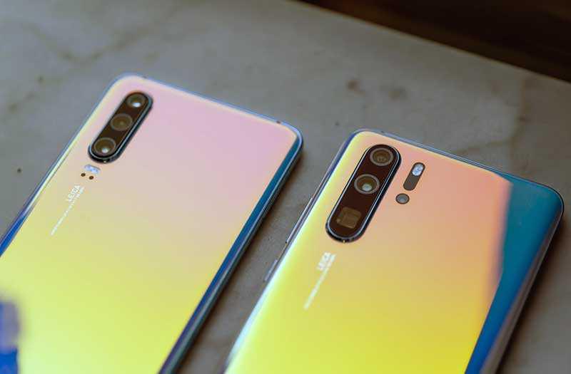 Сравнение OnePlus 7 Pro с Huawei P30 Pro
