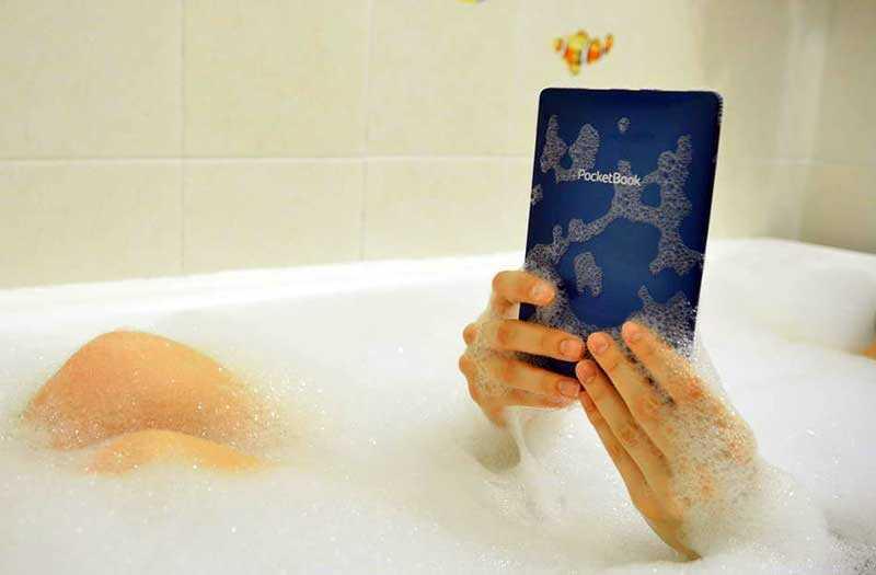 Обзор PocketBook 632 Aqua: флагманский ридер с водозащитой — Отзывы TehnObzor