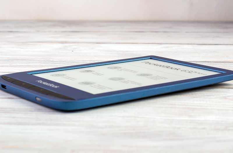 PocketBook 632 Aqua сбоку