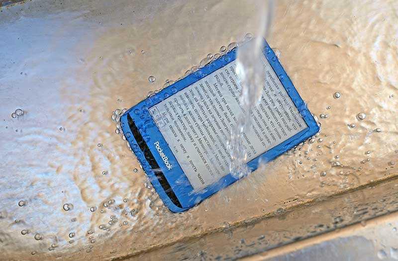 Обзор ридера PocketBook 632 Aqua