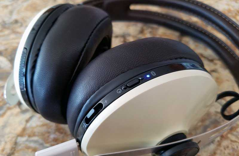 Sennheiser Momentum Wireless управление