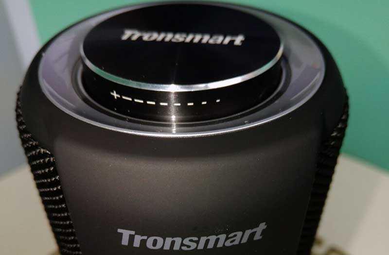 Tronsmart Element T6 Plus регулятор колесико