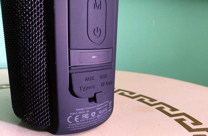 Tronsmart Element T6 Plus защита от воды