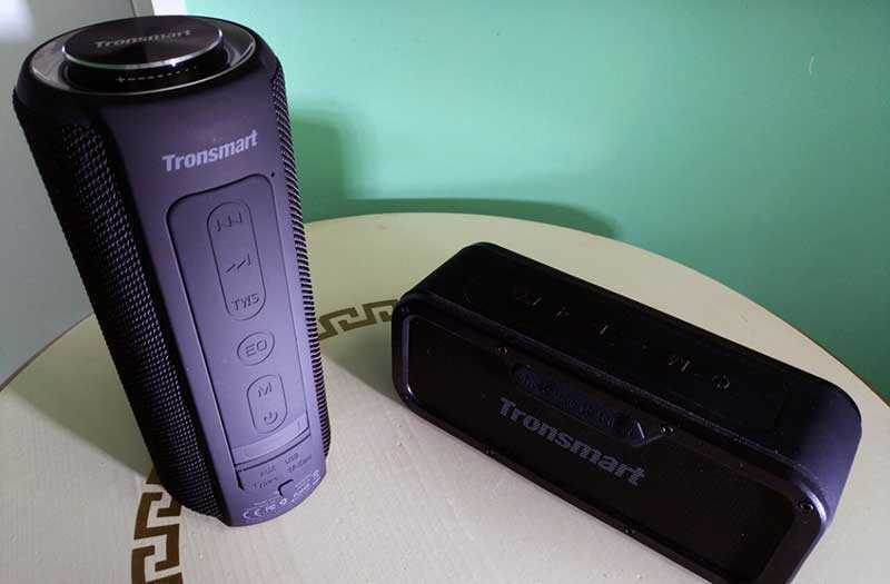 Tronsmart Element T6 Plus стерео