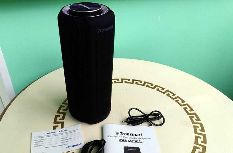 Tronsmart Element T6 Plus подключение