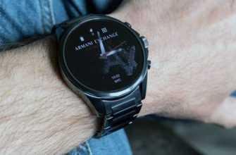 Обзор Armani Exchange AX Connected: умных часов — Отзывы TehnObzor