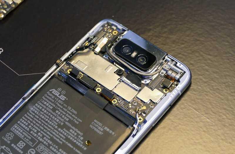 Asus Zenfone 6 без крышки