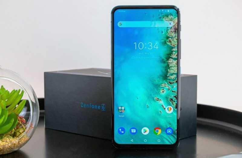 Asus Zenfone 6 экран