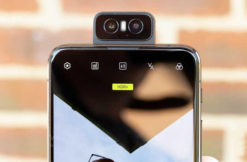 Asus Zenfone 6 выкидывающаяся камера