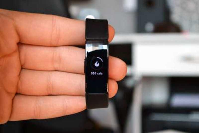 Fitbit Inspire HR дисплей