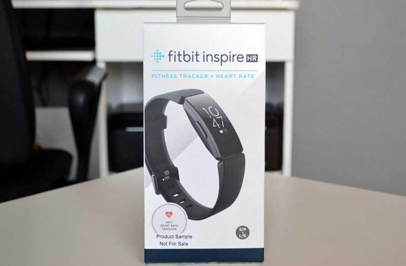 Fitbit Inspire HR отзывы