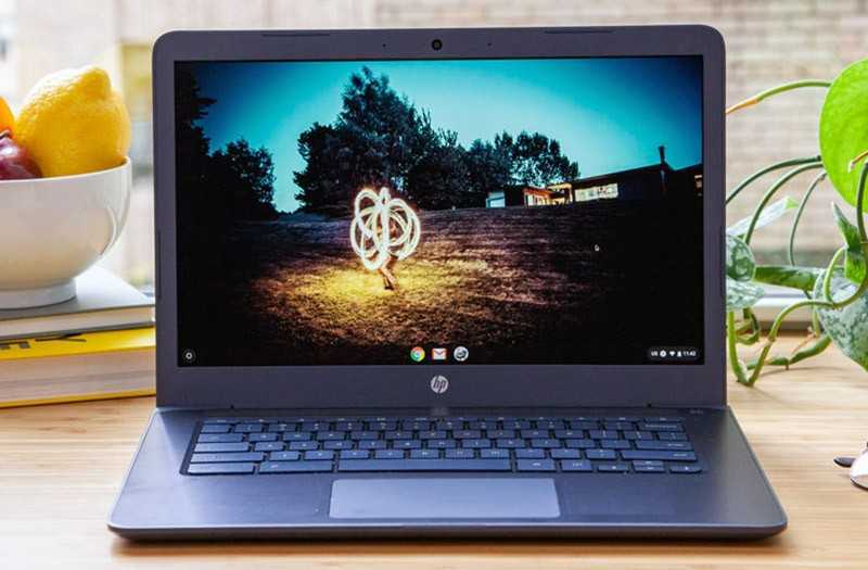 HP Chromebook 14 дисплей