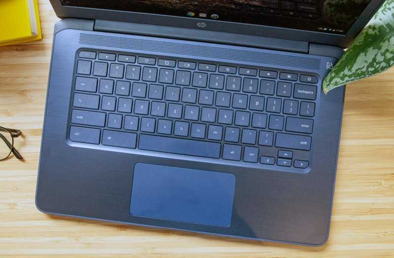 HP Chromebook 14 клвиатура