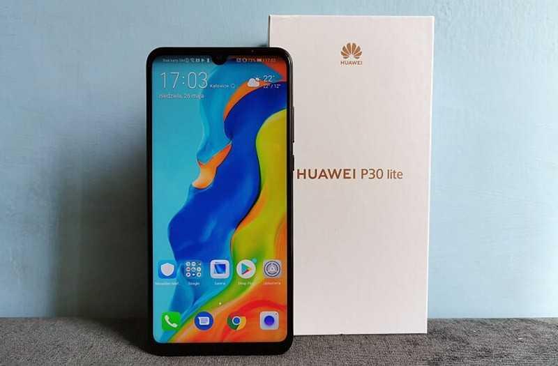 Huawei P30 Lite дизайн