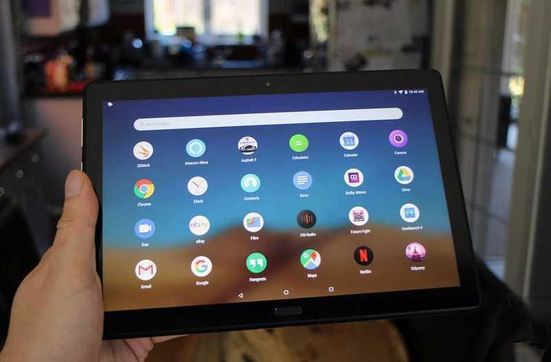 Lenovo Smart Tab P10 функции