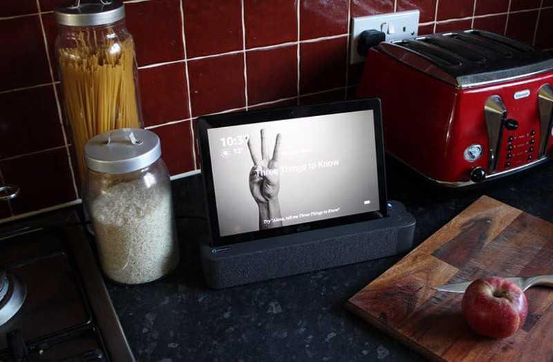 Lenovo Smart Tab P10 дизайн