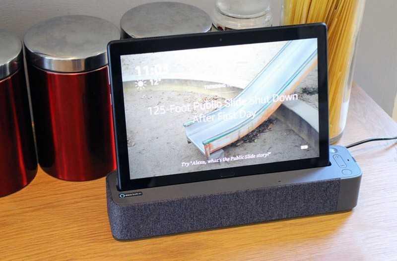 Обзор Lenovo Smart Tab P10: Android-планшет с Alexa — Отзывы TehnObzor