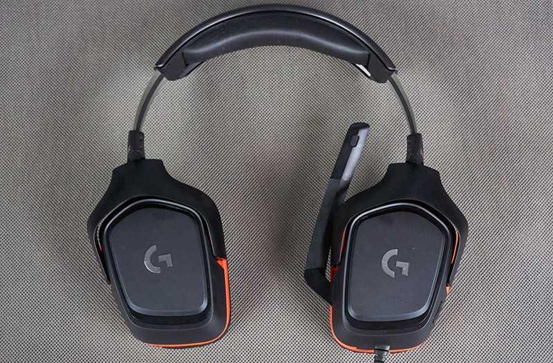 Logitech G332 комфорт