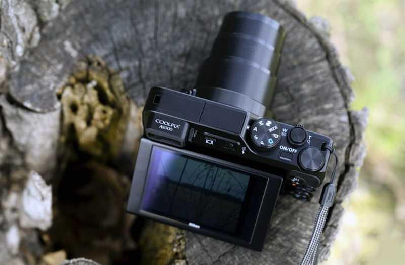 Nikon Coolpix A1000 экран